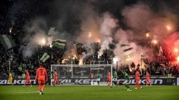 Френската лига наказа тежко Сент Етиен заради пиротехническото шоу срещу ПСЖ