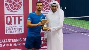 Димитър Кузманов спечели титлата в Доха