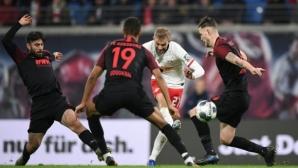 Лайпциг озапти Аугсбург за 31 минути