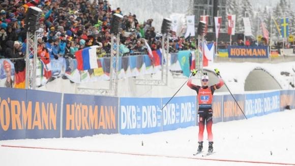 Норвегия спечели щафетата на 4 по 6 км от СК в Оберхоф