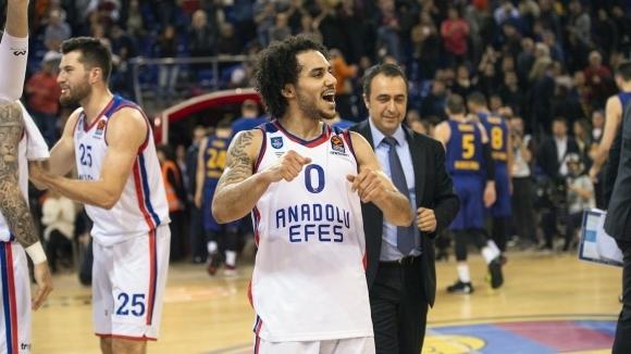 Шейн Ларкин е MVP на кръга в Евролигата