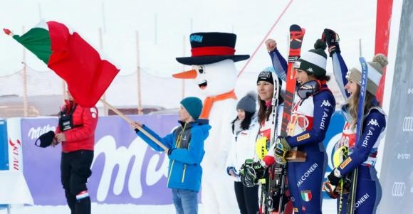 Федерика Бриньоне спечели първата за сезона алпийска комбинация