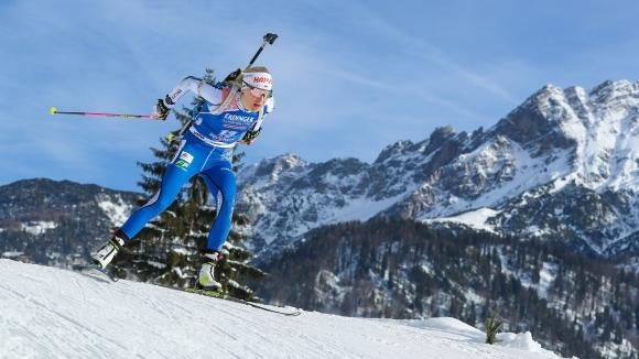 Макарайнен стана втората 37-годишна биатлонистка в историята, която печели старт от СК