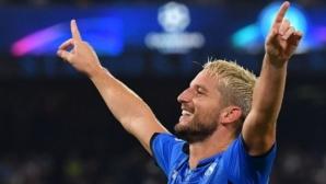 Дрис Мертенс е трансферна цел на Рома