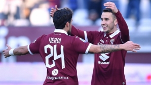 Торино продължи чудесния си старт на годината (видео)