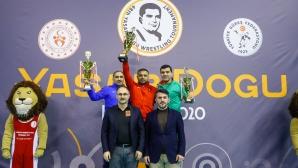 Българските национали по борба спечелиха още два медала на турнира в Истанбул