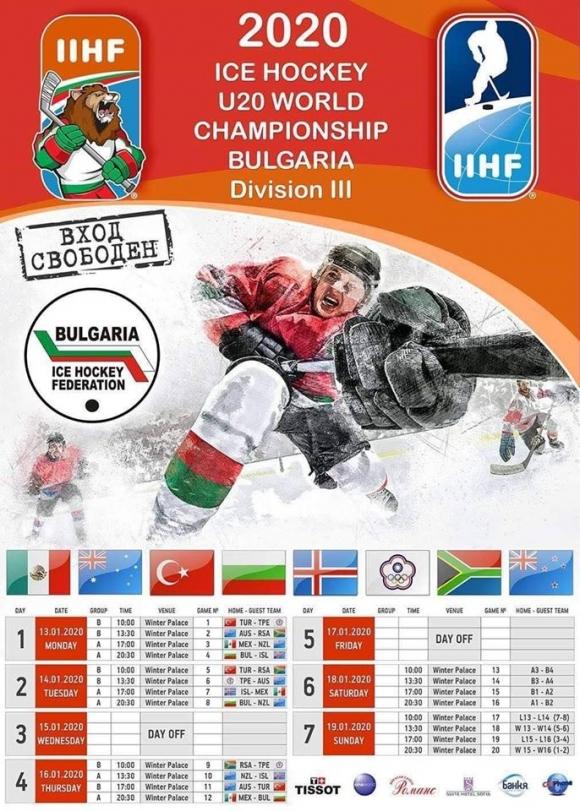 Днес в София започва световното първенство за младежи
