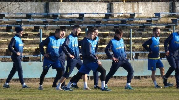 Бивши футболисти на Левски започнаха подготовка с Марица (Пд)