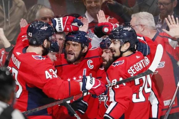 Овечкин вече е №11 при реализаторите в НХЛ