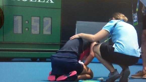 Тенисистка не можа да понесе замърсения въздух в Мелбърн