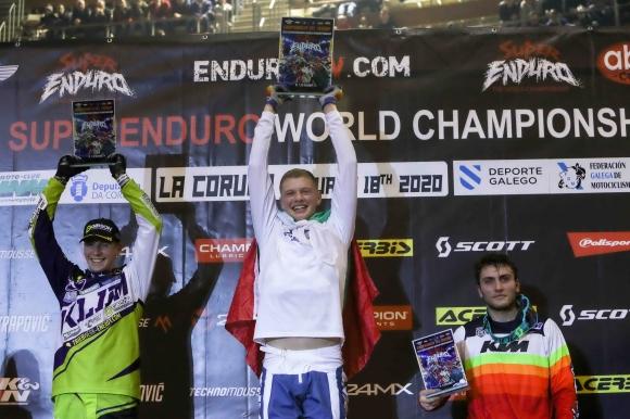 Теодор Кабакчиев донесе първа победа на България в кръг от Световния шампионат по Супер Ендуро