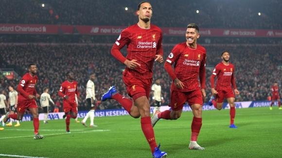 Победната серия на Ливърпул мина и през Манчестър Юнайтед