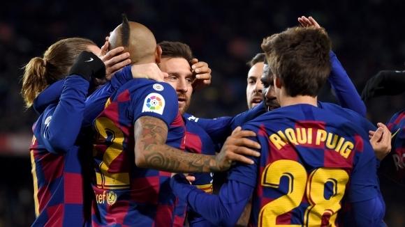 Барселона 0:0 Гранада, гостите са с човек по-малко