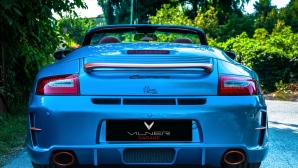 Българското тунинг студио Vilner завърши проекта си Porsche 911 Cabriolet