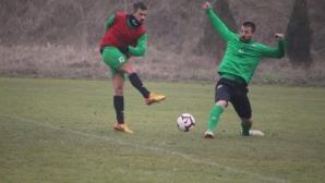 Бодуров с гол за Пирин, благоевградчани освободиха всички играчи на проби