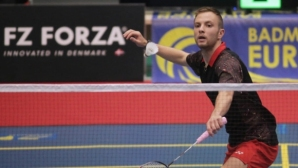 Янакиев отпадна на четвъртфиналите в Швеция