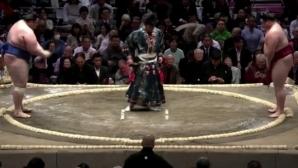 Загуба за Даниел Иванов - Аоияма на турнира по сумо в Токио