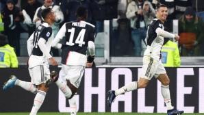 Отпочиналият Роналдо отново вдъхнови Ювентус (видео)