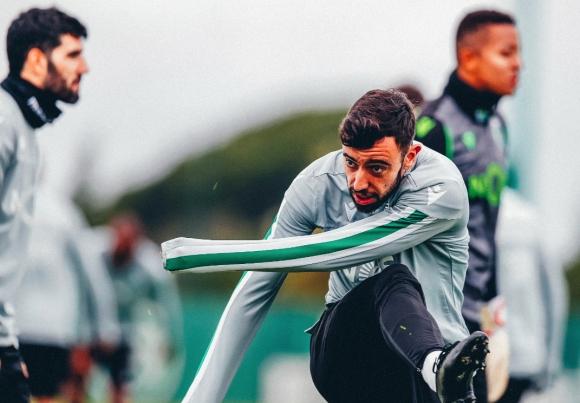 Бруно Фернандеш не дава знаци, че е пред трансфер, коментираха от Лисабон