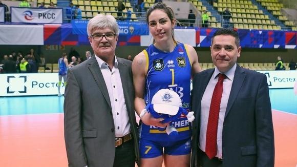 Лора Китипова: Уникални емоции, горда съм с отбора