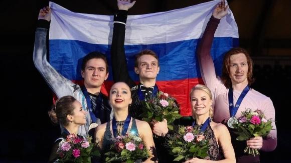 Изцяло руски подиум при спортните двойки на Европейското в Грац