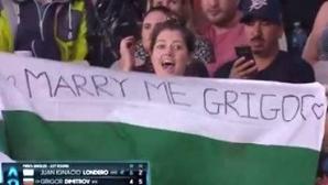 Предложиха брак на Григор Димитров на Australian Open