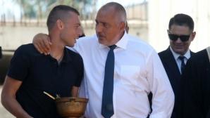 Борисов с коментар относно срещата си с феновете на Ботев (Пловдив)