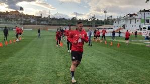 ЦСКА-София с двуразова тренировка преди първата си контрола в Испания