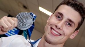Голомеев с медали от Шампионските плувни серии в Китай