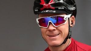 Крис Фрум ще участва в Обиколката на ОАЕ