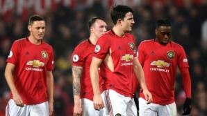 """Манчестър Юнайтед 0:1 Бърнли, Крис Ууд смълча """"Олд Трафорд"""" (гледайте тук)"""