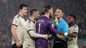 ФА глоби Юнайтед за протестите около гола на Фирмино