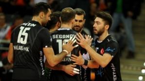 Георги Сеганов и Халкбанк с първа победа за годината в Турция