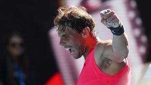 Безпощаден Надал скочи във втората седмица на Australian Open