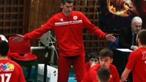 Александър Попов: Докато не се реши въпросът със залата, бъдещето на отбора е несигурно
