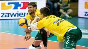 Ники Пенчев с 13 точки при загуба на Заверче от ЗАКСА в Полша