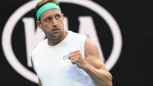 Две години по-късно Тенис Сандгрен отново е на 1/4-финал в Мелбърн