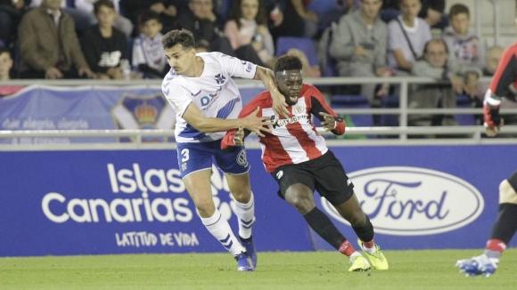 Атлетик Билбао се измъчи срещу Тенерифе