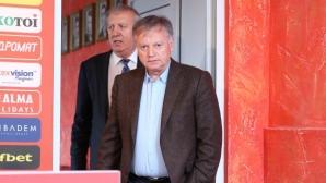 Инджов: Обърнете се към г-н Ганчев и сина му за новия стадион
