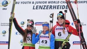 Милена Тодорова спечели сребърен медал на световно първенство в биатлона (видео + снимки)