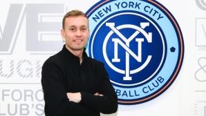Исландски халф, желан от Левски, ще продължи кариерата си в Ню Йорк Сити