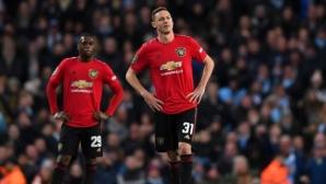Ман Юнайтед уплаши, но не успя да спре Ман Сити по пътя към финала