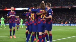 Барселона с първи разгром при Сетиен, Меси с дубъл (видео)