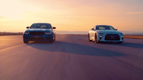 BMW M5 Competition vs Nissan GT-R - кой ще победи?