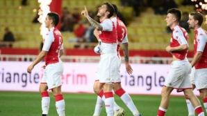 Гениален гол на Йоветич върна Монако на победния път