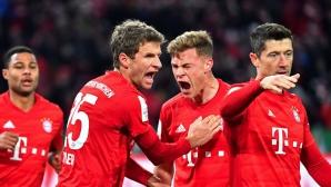 Байерн показа двете си лица в мач за Купата на Германия (видео)