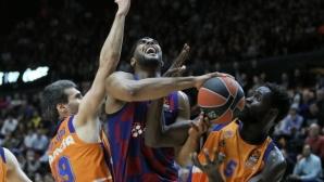 Барселона надви Валенсия за четвъртата си поредна победа в Евролигата