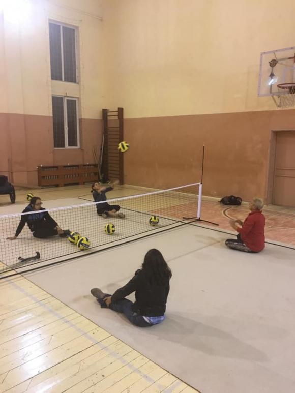 Ротари Клуб София Интернешънъл подкрепя волейболен клуб за хора с увреждания Sofia Owls