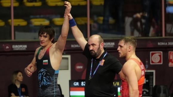 Втора победа за Даниел Александров на Европейското в Рим
