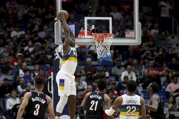 Избраният под №1 в драфта на НБА Зайън Уилямсън с личен рекорд